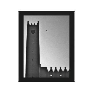 Riyadh moské canvastryck