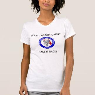 RLC_FL_Logo_circled_v2 [1], är DET ALL OM LIBER… Tee Shirts