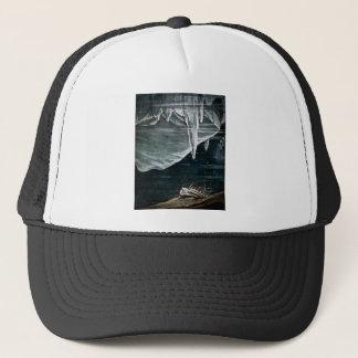 RMS som är titanic under havet och isbergvintagen Keps
