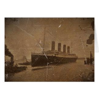RMS Titanic Southampton Hälsningskort