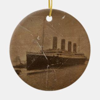 RMS Titanic Southampton Julgransprydnad Keramik