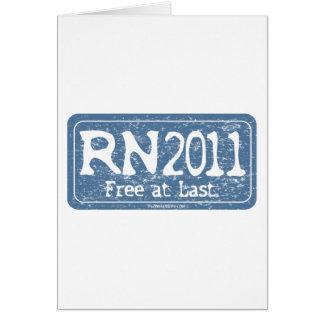 RN 2011 - Frigör äntligen Kort
