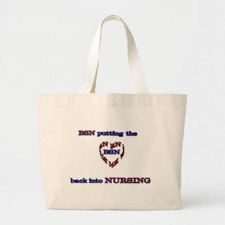 Rn-hjärta Tote Bags