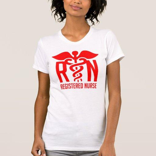 RN - Legitimerad sjuksköterska Tee Shirt