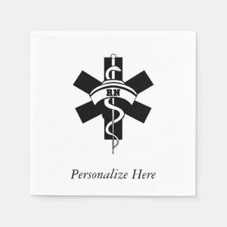 Rn-sjuksköterskor Servett