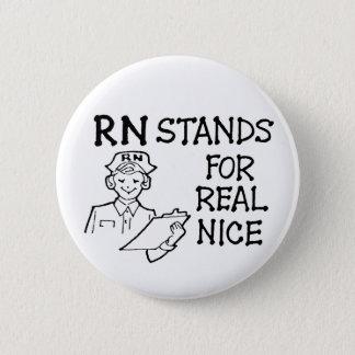 Rn-stativ för verkliga Nice knäppas Standard Knapp Rund 5.7 Cm