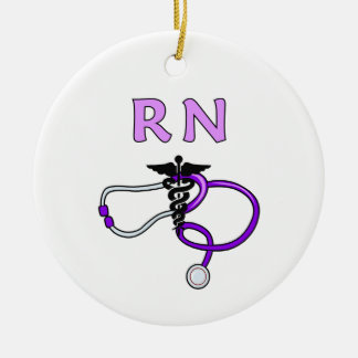 Rn-stetoskop Julgransprydnad Keramik
