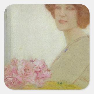 Ro 1912 fyrkantigt klistermärke