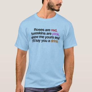 Ro är röda mig ska köp dig en drink (manlign) tee shirts