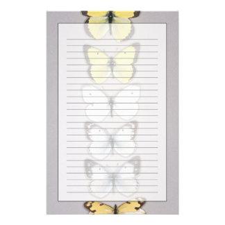 Ro av fjärilar brevpapper
