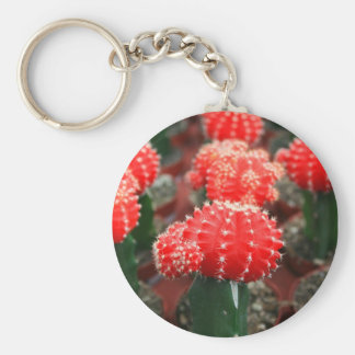 Ro av kaktus Keychain Rund Nyckelring