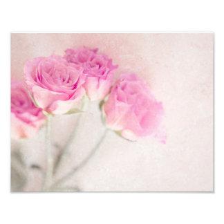 Ro för Collage för bakgrund för rosa rosmarmorsten Fototryck
