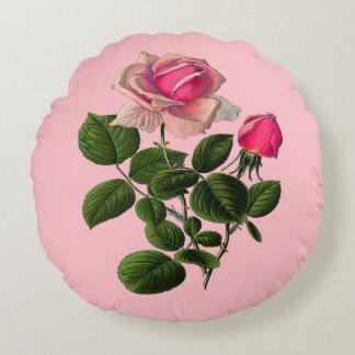 Ro för rosa Tea Rund Kudde
