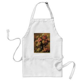 Ro i en vas av Pierre Renoir, vintagekonst Förkläde