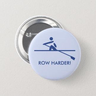 Ro mer hård pictogram förser med text blått standard knapp rund 5.7 cm