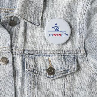 Ro motivational blått standard knapp rund 5.7 cm