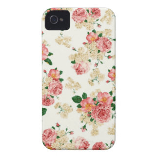 Ro och Magnolia iPhone 4 Fodral