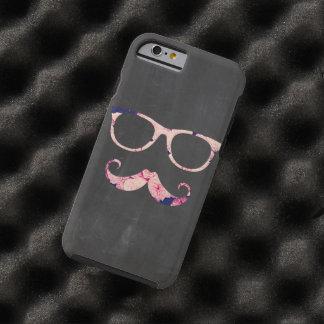 Ro och mustasch tough iPhone 6 skal
