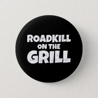 Roadkill på grilla - roligt BBQ-party Standard Knapp Rund 5.7 Cm