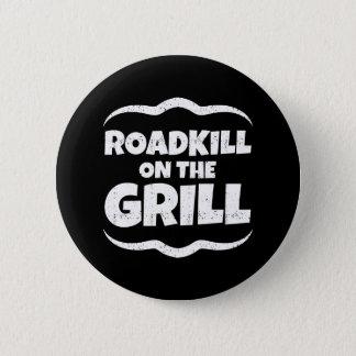 Roadkill på grilla - sommarBBQ-party Standard Knapp Rund 5.7 Cm