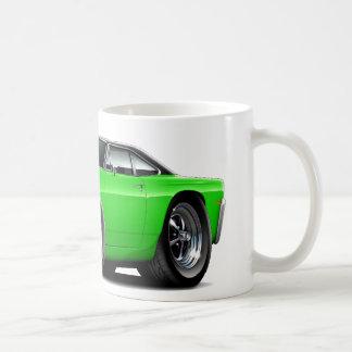 RoadrunnerLimefrukt-Svart Huva-Bästa bil 1969 Kaffemugg