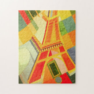 Robert Delaunay Eiffel tornpussel Pussel