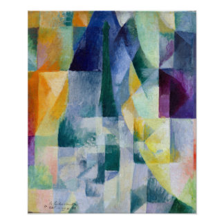 Robert Delaunay samtidiga Windows Poster