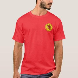 Robert den röda Brucen & guld förseglar skjortan Tshirts