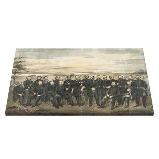 Robert E. Lee & hans Canvastryck