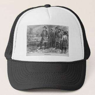 Robert E. Lee med hans soldater på Fredericksburg Keps