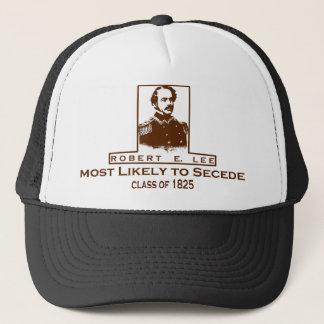 Robert E. Lee Mest troligen som utträder ur Truckerkeps