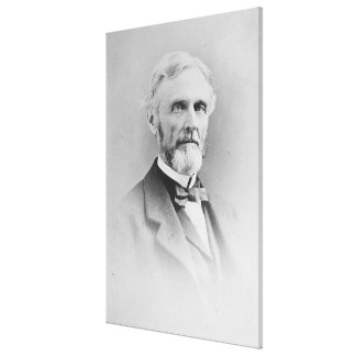 Robert E. Lee Porträtt av George Grantham Bain Canvastryck