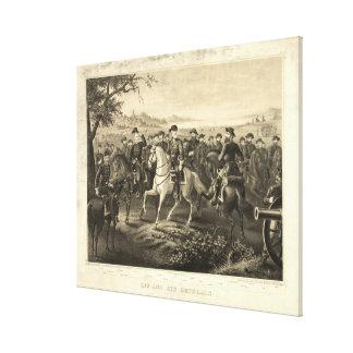 Robert E. Lee & tryck för 21
