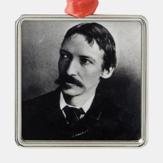 Robert Louis Stevenson Julgransprydnad Metall
