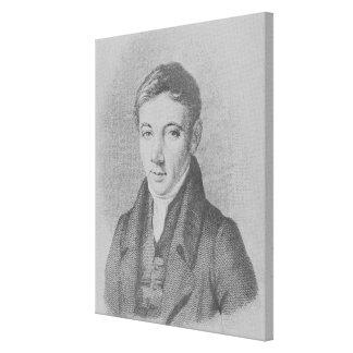 Robert Owen, 1823 Canvastryck