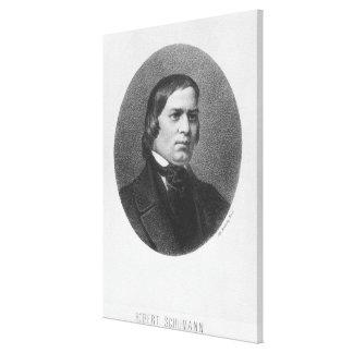 Robert Schumann, 1839 Canvastryck