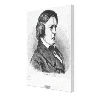 Robert Schumann Canvastryck