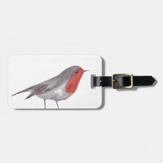 Robin fågel bagagebricka