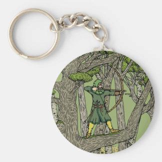 Robin Hood Rund Nyckelring