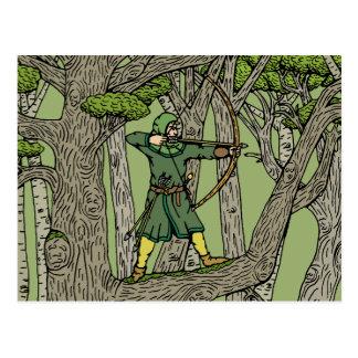 Robin Hood Vykort