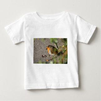 Robin med hans mask t-shirt