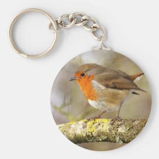 Robin Rund Nyckelring