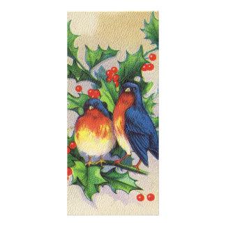 Robins & järnekjul reklamkort