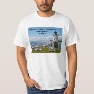 Robinson pekar fyren, den Maine T-tröja Tshirts