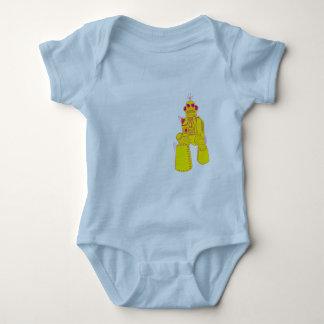 Robot för babybodysuit KOM T-shirts