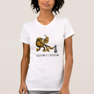 Robot och kanin t shirts