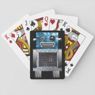 Robot som leker kort casinokort