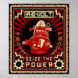 RobotBeträffande-volt Poster