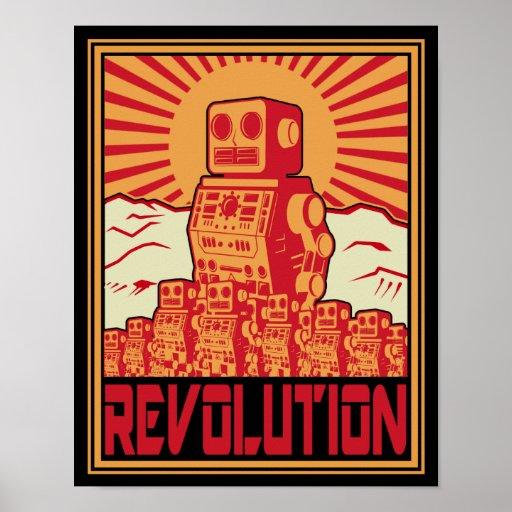 Robotrevolution Affischer