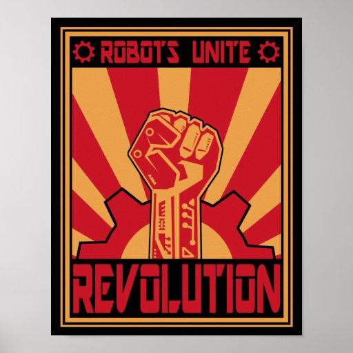 Robotuppror Affisch